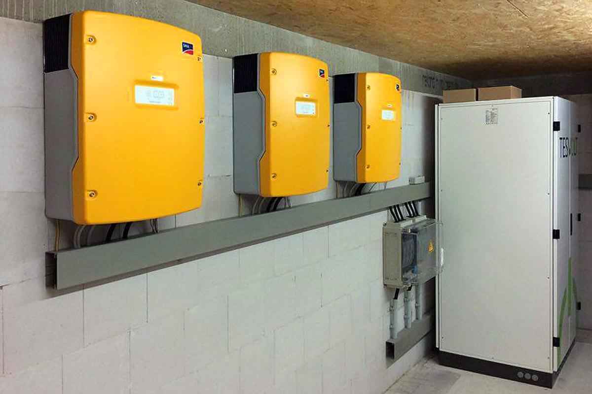 Photovoltaikanlagen von Weser Energietechnik